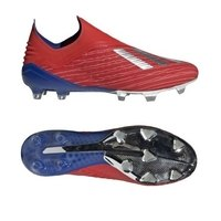 아디다스 X 18+ FG 펌그라운드 축구화 맨즈 BB9337 (Red-Silver)  adidas Firm Ground Soccer Cleats [BRM1918853]