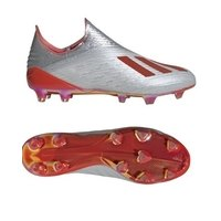 아디다스 X 19+ FG 펌그라운드 축구화 맨즈 F35322 (Silver-Red)  adidas Firm Ground Soccer Cleats [BRM1918896]