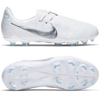 나이키 Jr 팬텀 베놈 엘리트 FG 축구화 키즈 Youth AO0401-100 (White-Platinum)  Nike Phantom Venom Elite Soccer Cleats [BRM1918952]