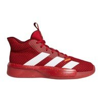 [BRM1918170] 아디다스 프로 Next 하이 탑 농구화 맨즈  (Red/White/Maroon)  adidas Men's Pro High Top Basketball Shoe
