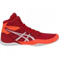 [BRM1972482] 레슬링화 아식스 매트플렉스 6 GS Red/Flash Coral 키즈 Youth 1084A007-601 복싱화  Wrestling Shoes Asics Matflex