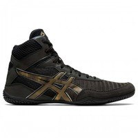 [BRM1974543] 레슬링화 아식스 매트컨트롤 2 L.E. Lite-Show Black/Pure 골드 맨즈 1081A037.001 복싱화  Wrestling Shoes ASICS Matcontrol Gold