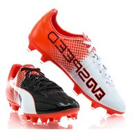 퓨마 JR 에보스피드 1.5 트릭스 FG Black-White-Red 키즈 Youth 80525 축구화  Puma evoSpeed Tricks [BRM1919006]