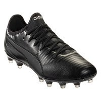 퓨마 킹 프로 FG 축구화 맨즈 (Black/White)  PUMA King Pro Soccer Cleat [BRM1918475]