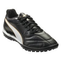 퓨마 카피타노 II TT Artificial 터프 축구화 맨즈 (Black/White/Gold)  PUMA Capitano Turf Soccer Shoe [BRM1918546]