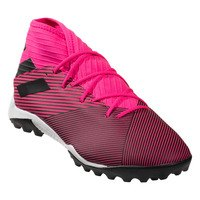 아디다스 네메시스 19.3 TF Artificial 터프 축구화 맨즈 (Shock Pink/White/Black)  adidas Nemeziz Turf Soccer Shoes [BRM1918574]