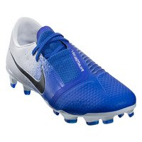나이키 팬텀 베놈 프로 FG 펌그라운드 축구화 맨즈 (White/Black/Blue)  Nike Phantom Venom Pro Firm Ground Soccer Shoe [BRM1918827]