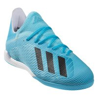 아디다스 X 19.3 인 인도어 축구화 맨즈 (Cyan/Black/Pink)  adidas IN Indoor Soccer Shoes [BRM1918970]