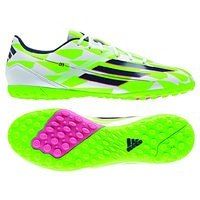 아디다스 F10 TRX 터프 축구화 맨즈 M18318 (White/Green)  adidas Turf Soccer Shoes [BRM1918905]