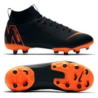 나이키 Youth 슈퍼플라이 6 아카데미 MG 축구화 키즈 AH7337-081 (Black/Orange)  Nike Superfly Academy Soccer Shoes [BRM1919426]