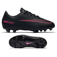 나이키 Youth 머큐리얼 베이퍼 XI FG 축구화 키즈 831945-006 (Black/Pink)  Nike Mercurial Vapor Soccer Shoes [BRM1919436]