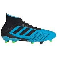 아디다스 프레데터 19.1 FG 축구화- 브라이트 Cyan/Core Black/Solar Yellow 맨즈 F35606 축구화 ()  adidas Predator Soccer Cleat- Bright [BRM1918965]