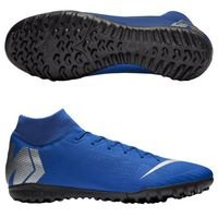 나이키 머큐리얼 슈퍼플라이X 6 아카데미 TF 맨즈  축구화 (RACER BLUE/METALLIC SILVER/BLACK)  Nike Mercurial SuperflyX Academy [BRM1918585]