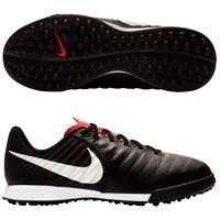 나이키 Jr. 티엠포 레전드X 7 아카데미 TF 키즈 Youth  축구화 (BLACK/PURE PLATINUM/LIGHT CRIMSON)  Nike Tiempo LegendX Academy [BRM1918800]