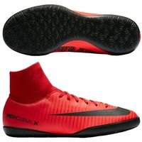 나이키 Jr. 머큐리얼X 빅토리 6 DF IC 키즈 Youth  축구화 (UNIVERSITY RED/BLACK/BRIGHT CRIMSON)  Nike MercurialX Victory [BRM1918862]
