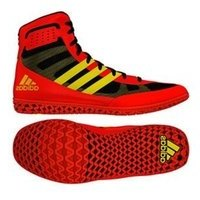 [BRM1971366] 아디다스 매트위저드 3 YOUTH 레슬링화 EnergyRed/Yellow/Black 키즈 Youth CM7179 복싱화  Adidas Mat Wizard Wrestling Shoes