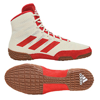 [BRM1992417] 아디다스 YOUTH 테크 FALL 2.0 레슬링화 WHITE/RED FW0395 키즈 Youth 복싱화 () ADIDAS TECH WRESTLING SHOE